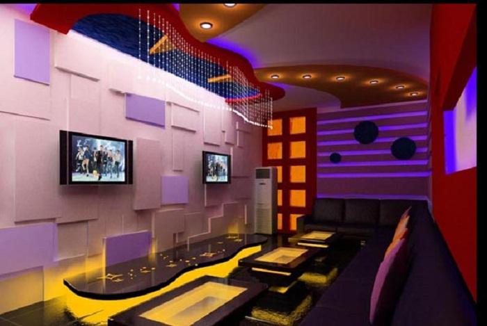 mẫu trần phòng karaoke