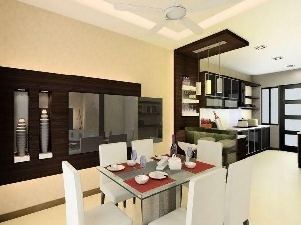 trần thạch cao phòng bếp phong ăn hcm