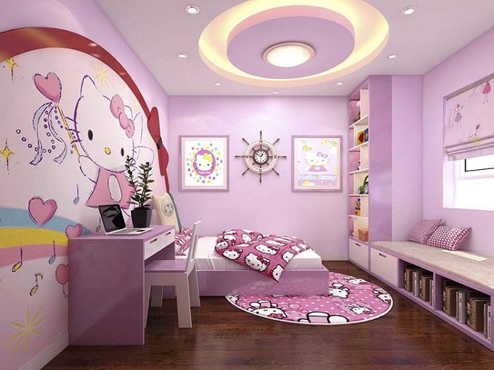 trần thạch cao phòng trẻ em