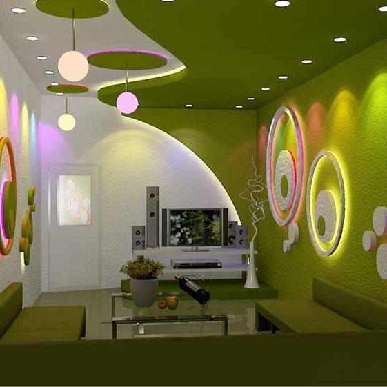 Thợ thiết kế thi công trần thạch cao phòng Karaoke đẹp, độc tại tphcm
