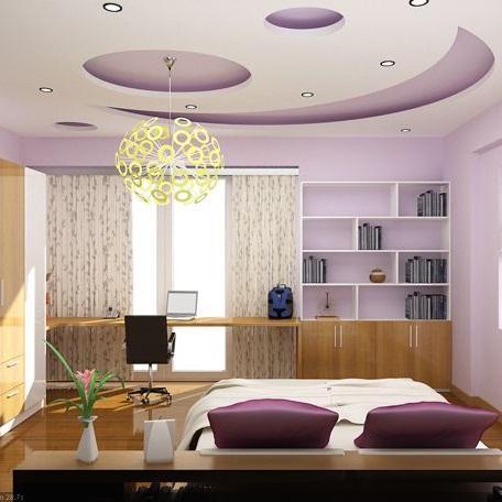 Thợ làm trần thạch cao phòng ngủ đẹp tại HCM