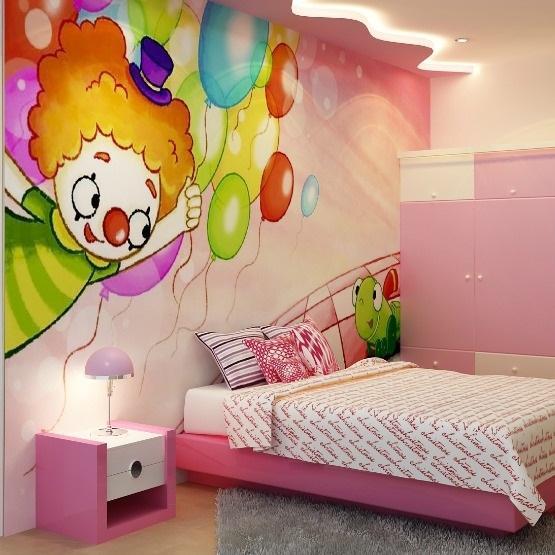Thiết kế thi công trần thạch cao phòng trẻ em đẹp mê ly