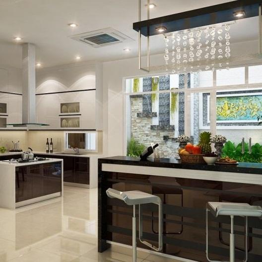 Làm trần thạch cao phòng bếp đẹp tại TPHCM