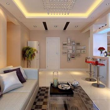 Thiết kế mẫu trần thạch cao phòng khách đẹp tại HCM