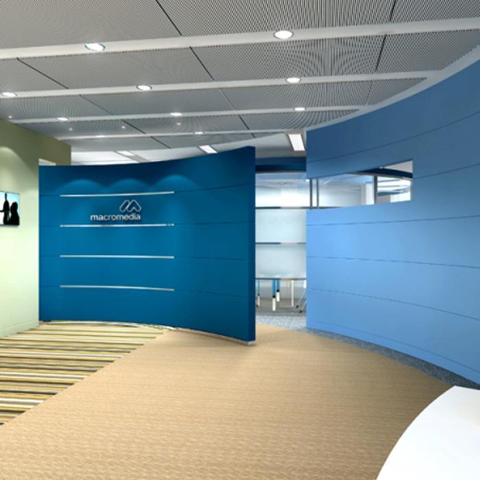 Thi công, thiết kế vách thạch cao văn phòng  theo xu hướng mới !